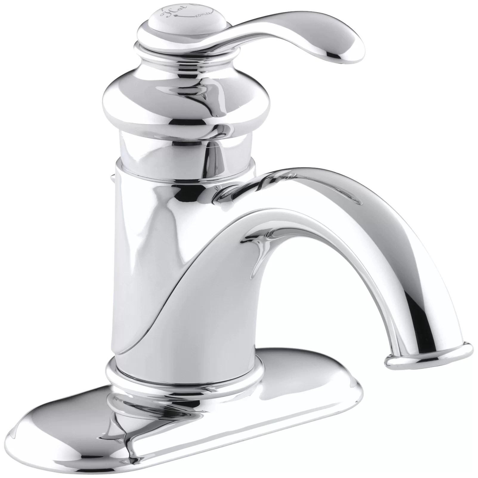 Fairfax Centerset Bathroom Sink Faucet with Single Lever Handle  Wayfair