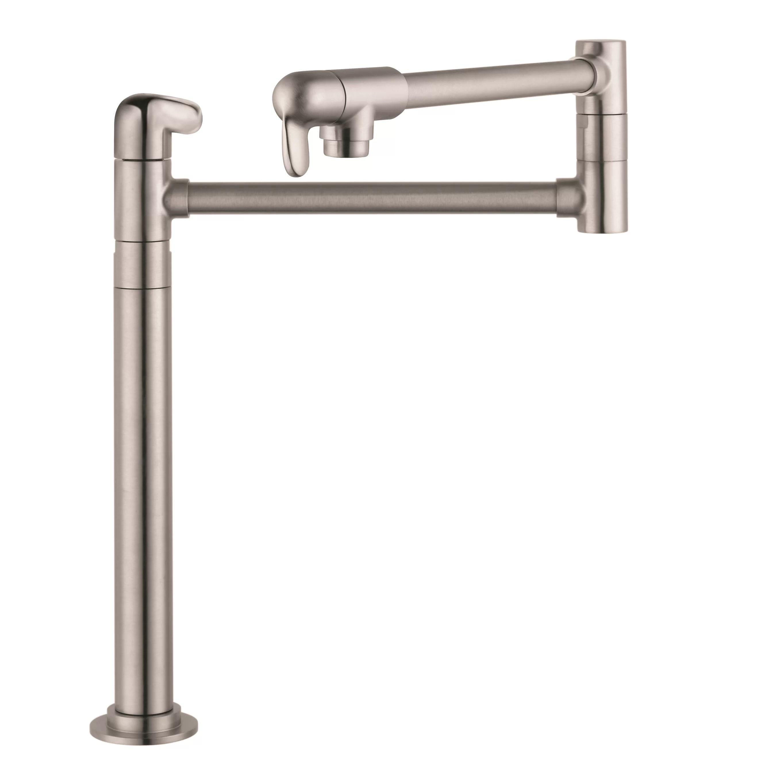 hansgrohe allegro e kitchen faucet coffee signs decor single handle deck mounted pot filler