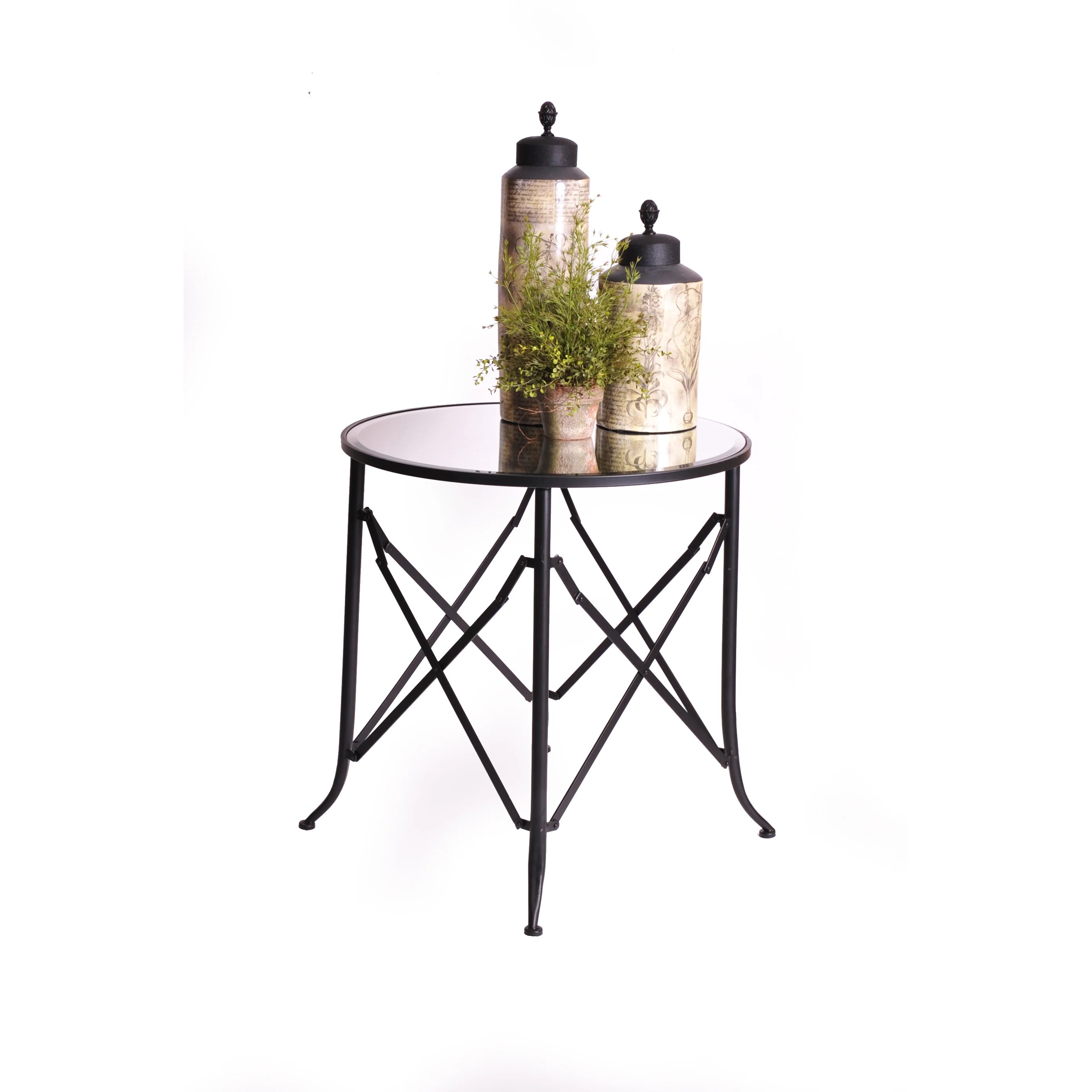 Haven 30 Mirrored End Table
