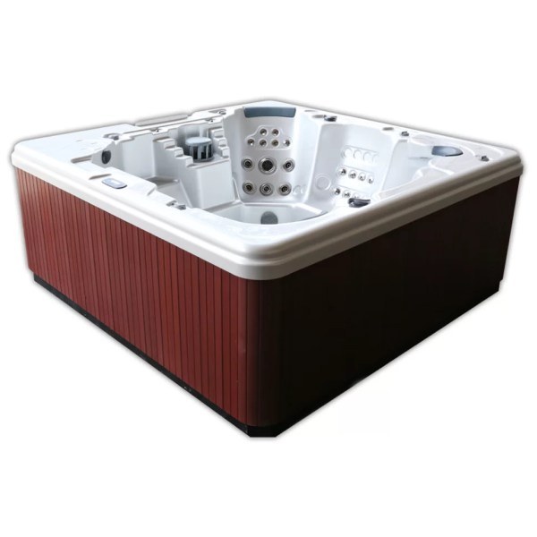 Home And Garden Spas 5-person 106-jet Hot Tub With Mp3 Auxiliary Output &