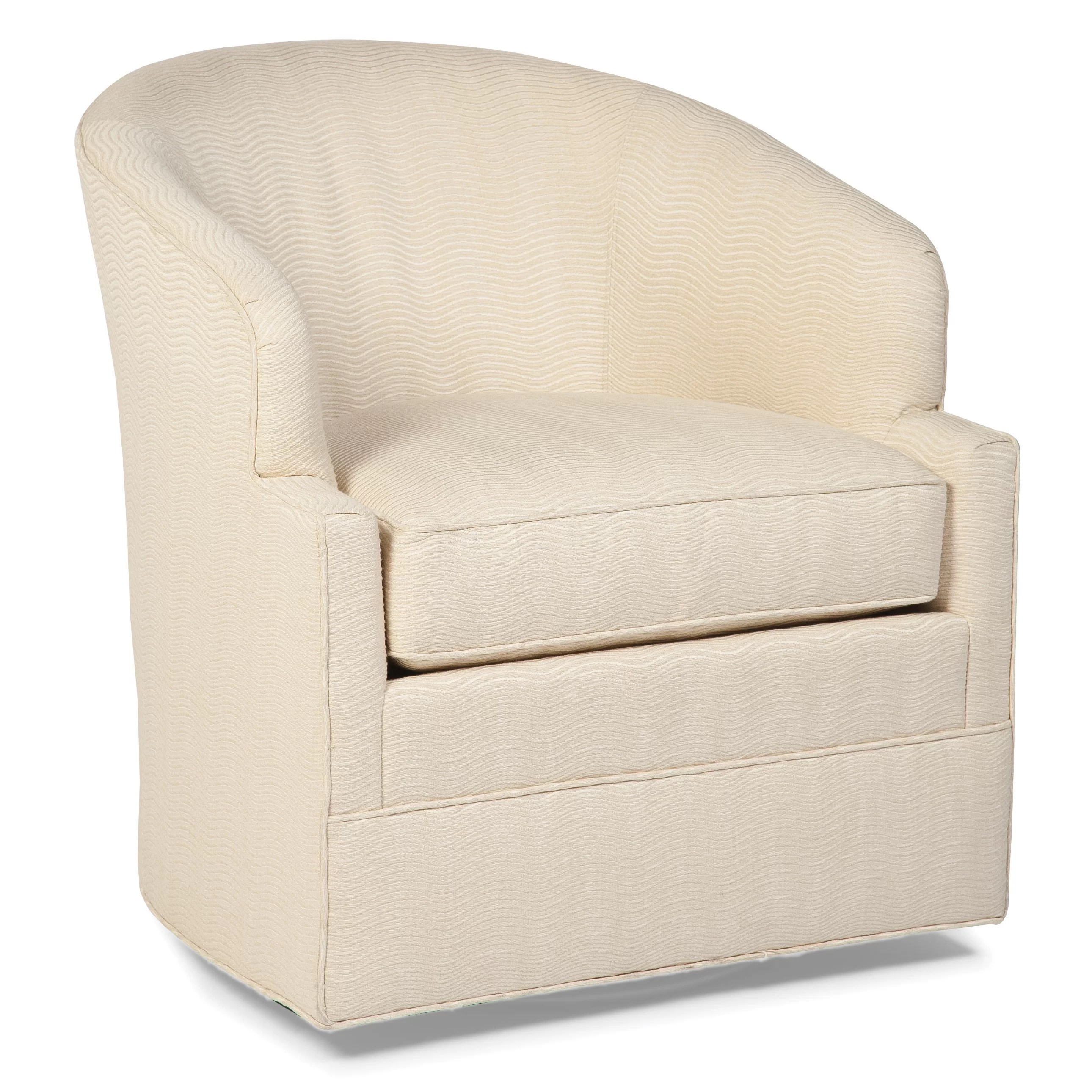 Barrel Chair Swivel Transitional Swivel Barrel Chair Wayfair