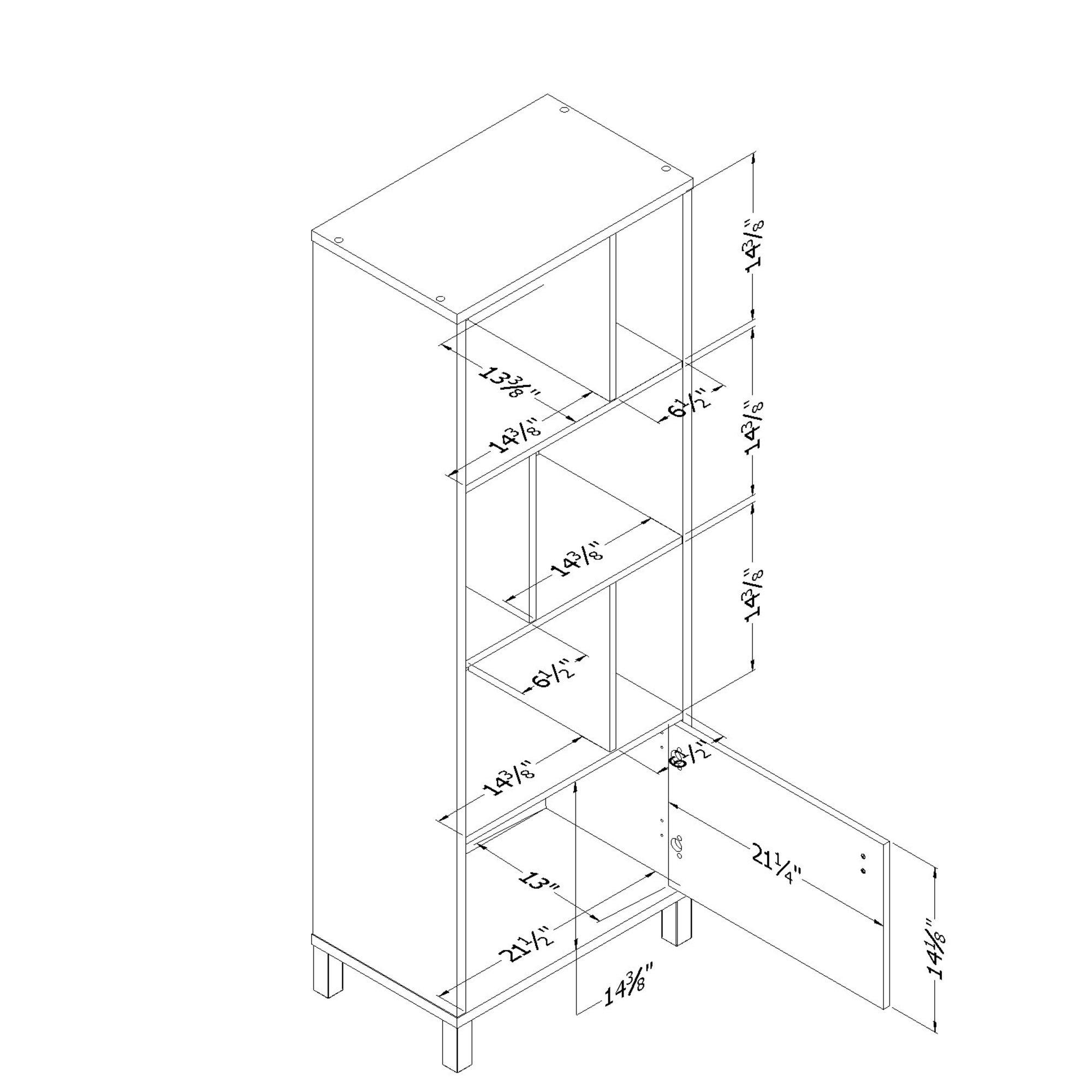 South Shore Expoz Cube Unit Bookcase Amp Reviews