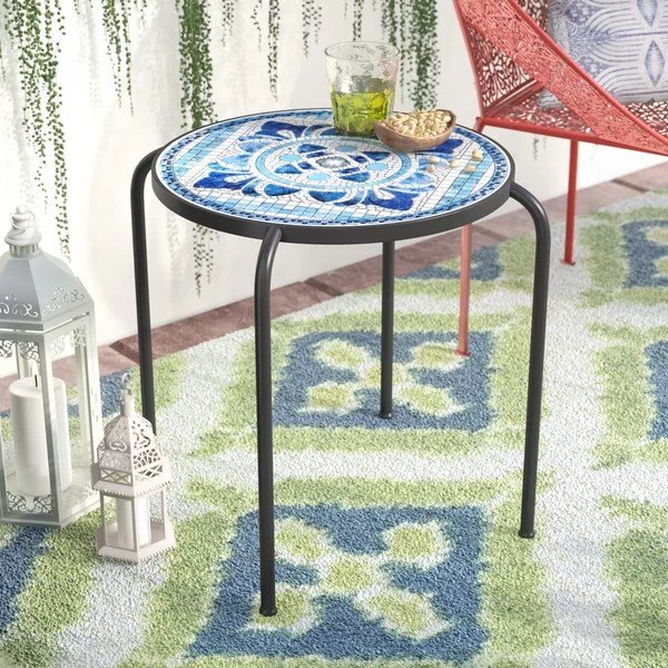 patio table tile inserts