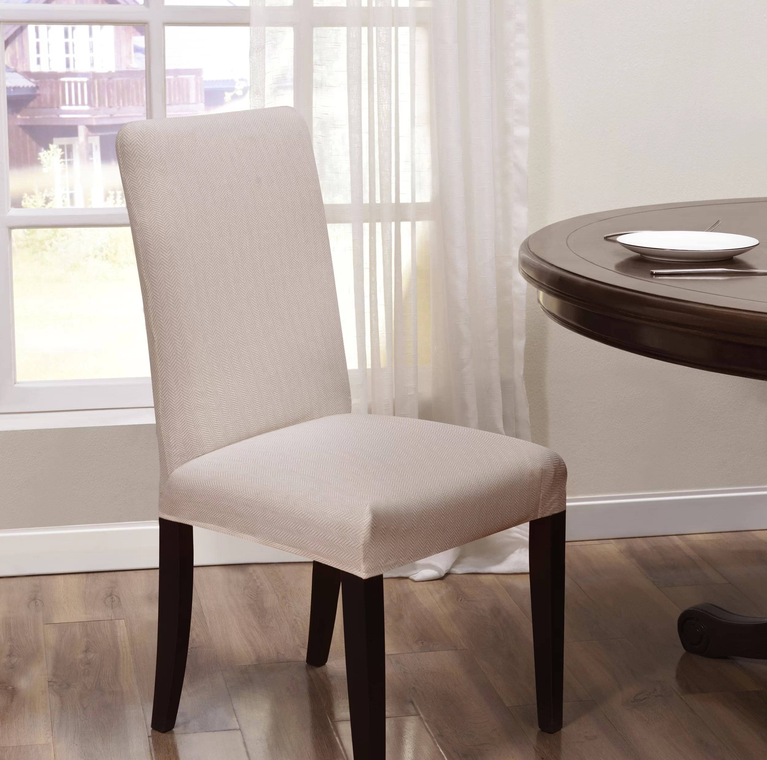 Dining Chair Slipcover Box Cushion Dining Chair Slipcover