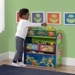 Ninja Turtle Chair Toys R Us West Elm Rocking Delta Children Turtles Multi Bin Storage Organizer