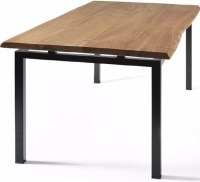Gingko Home Furnishings George Walnut Dining Table with ...