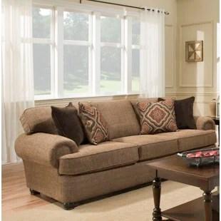 jive chenille living room furniture collection curtain design for 2017 heather sofa wayfair godwin