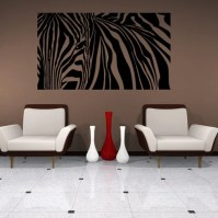 Style and Apply Zebra Stripes Wall Decal | Wayfair
