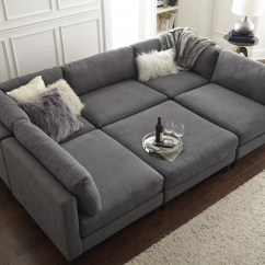 Chelsea Square Sofa Ashley Furniture Circa Sleeper Home By Sean And Catherine Lowe Modular Sectional