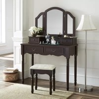 Bathroom Makeup Vanity Table | Wayfair