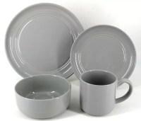 Stoneware Dinnerware Set & Edmonton Stoneware 16 Piece ...