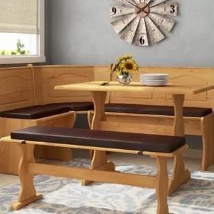 kitchen bench cushions nook tables custom indoor wayfair quickview