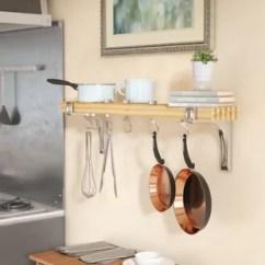 Pot Racks For Kitchen Remodeling Ideas Wall Hanging Rack Wayfair Mounted