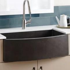 Cement Kitchen Sink Inexpensive Cabinet Makeovers Concrete Farmhouse Wayfair Quickview