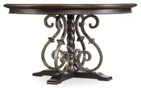 Italian can never lag behind when it comes to class and style. Just like the Italian wine gets better as they age, this dining table for small space that expand is a piece that has been in design for a very long time. It is designed to give that antique look to give a sense of old world to the beholder.