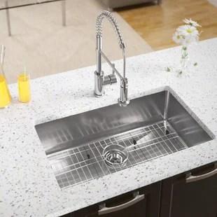 kitchen sink mats cookware protectors wayfair stainless steel 31 x 18 undermount