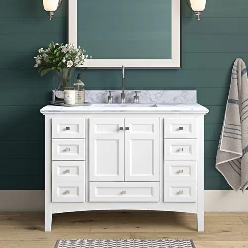 Bearcreek 42 Single Bathroom Vanity Set Reviews Joss Main