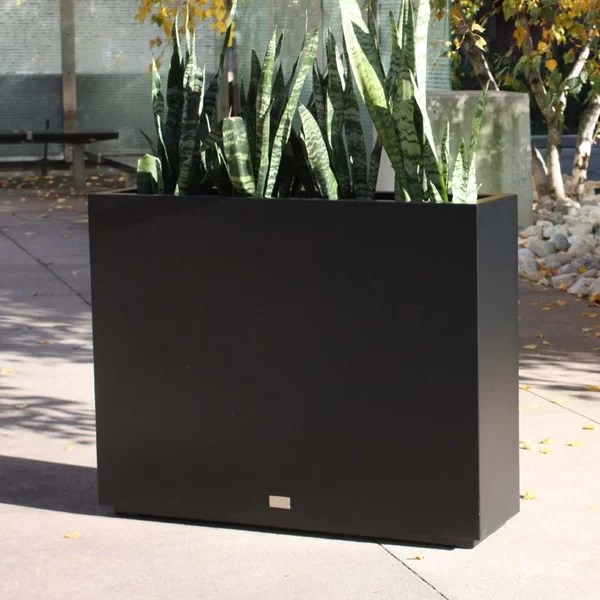 Veradek Metallic Series Span Galvanized Steel Planter Box