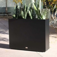 Veradek Metallic Series Span Galvanized Steel Planter Box ...