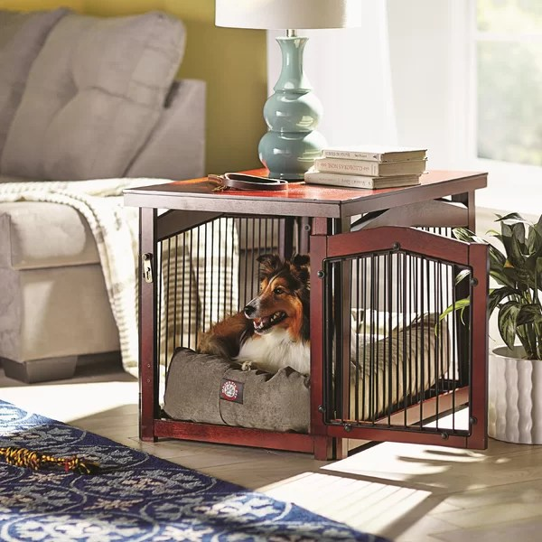 wayfair adirondack chairs embody chair by herman miller review dog crates & cages you'll love |