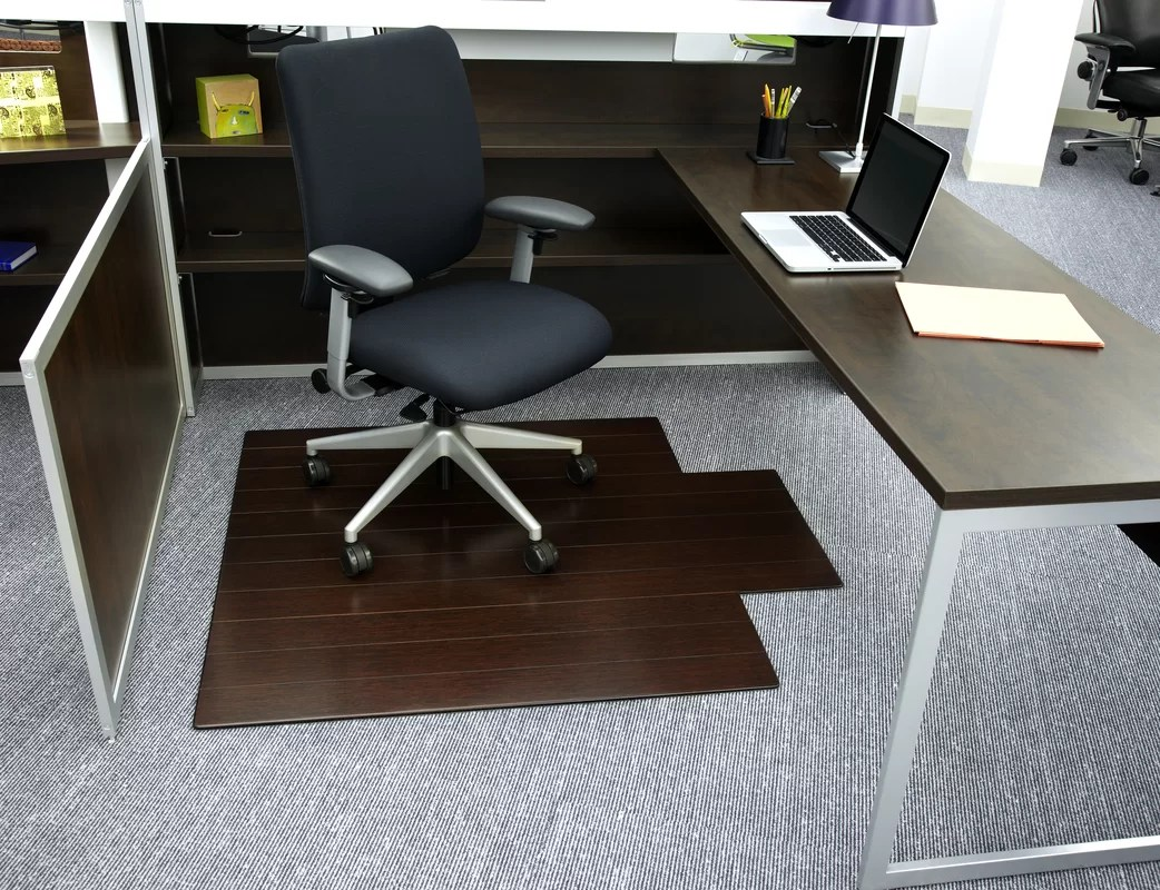 chair mat bamboo covers & linens madison heights mi symple stuff office and reviews wayfair