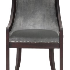 Nailhead Upholstered Dining Chair Contemporary Leather Room Chairs Darby Home Co Adebay Reviews Wayfair
