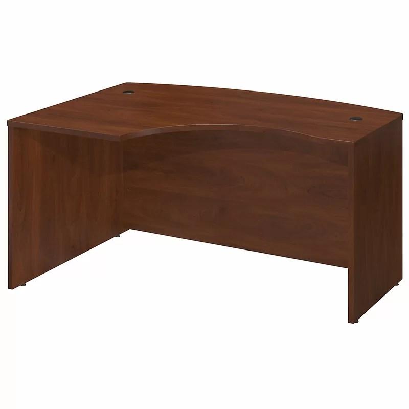Series C L-Shape Executive Desk with L-Bow Orientation: Left