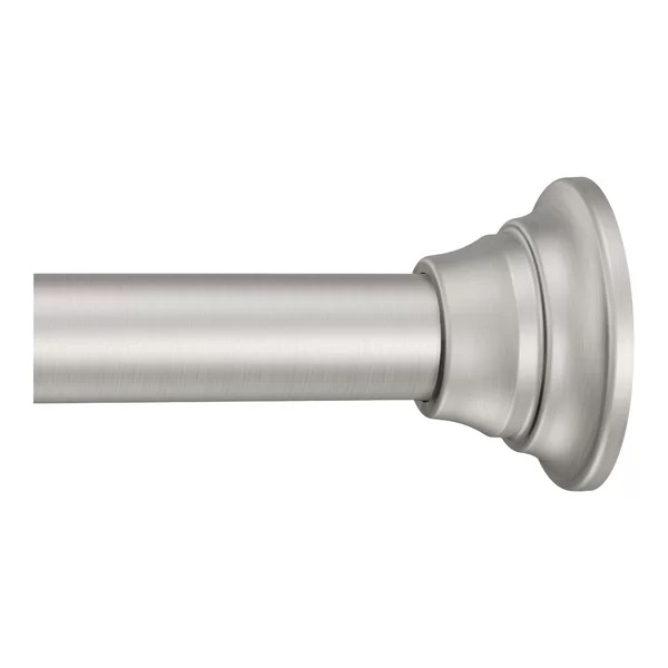 short shower curtain rod