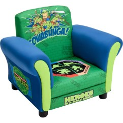 Ninja Turtles Chair Florida Beach Chairs Delta Children Kids Upholstered Club Reviews