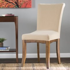 Chair Covers Dining Room Rustic Tables And Chairs For Restaurants Tall Wayfair Quickview