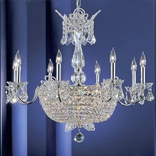 Crown Jewels 24 Light Crystal Chandelier