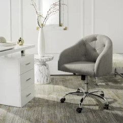Tufted Desk Chair Bistro Dining Chairs Uk Fabric Office You Ll Love Wayfair Quickview