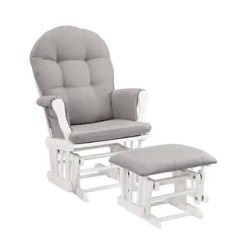 Rocking Chair With Footstool India Best Chairs Inc Recliner Glider Wayfair Quickview