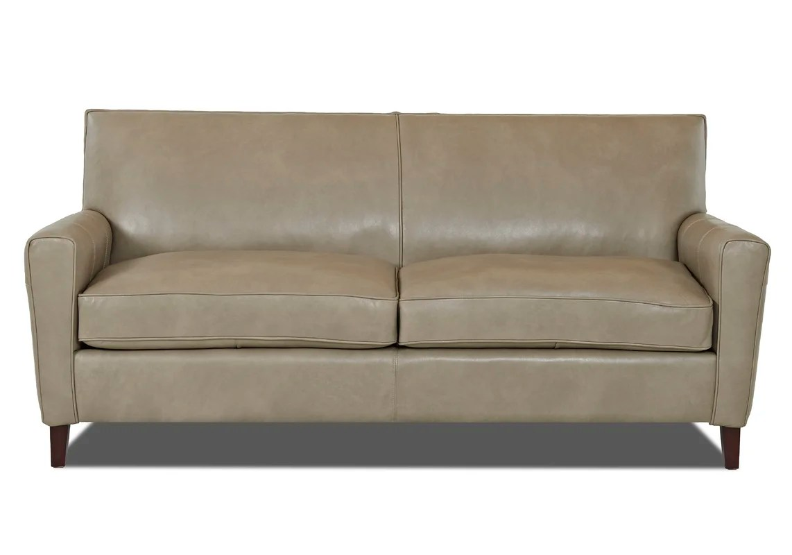 grayson sofa bed t nut wayfair custom upholstery leather and reviews