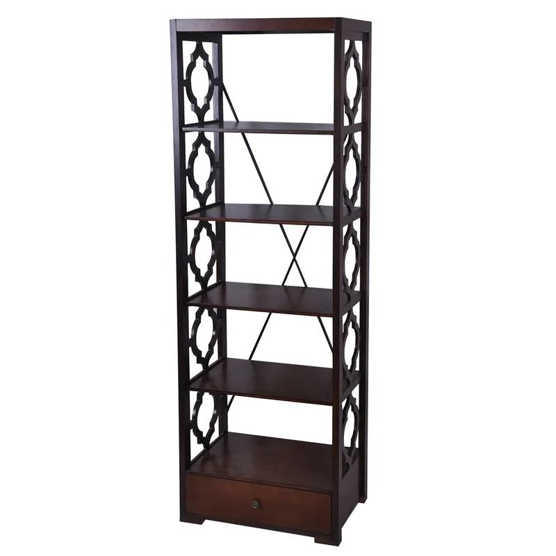 Pembroke Etagere Bookcase