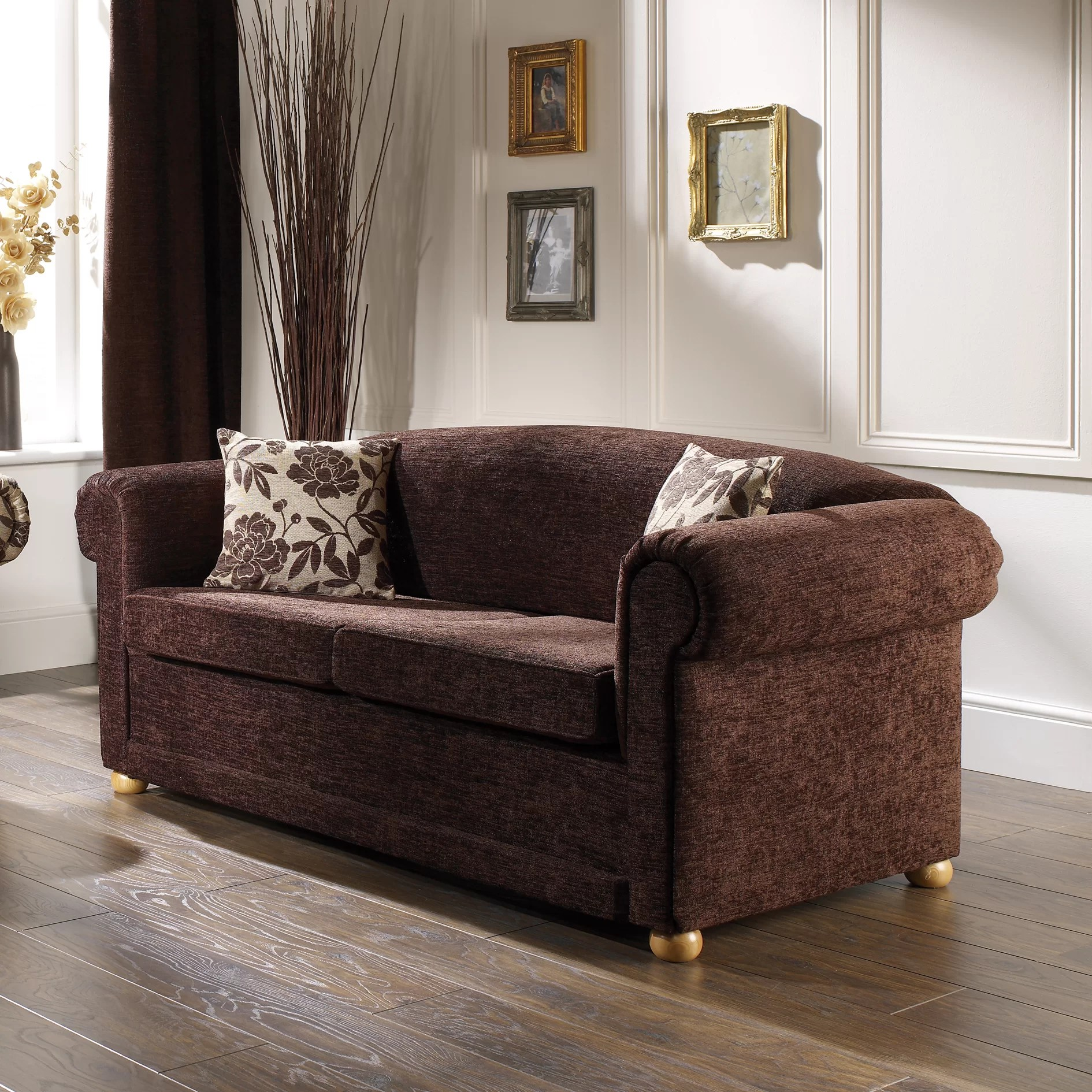 fold out sofa bed uk latest wooden design images churchfield chesterfield 2 seater