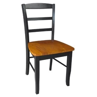 wood hand chair bad back chairs for home wayfair quickview