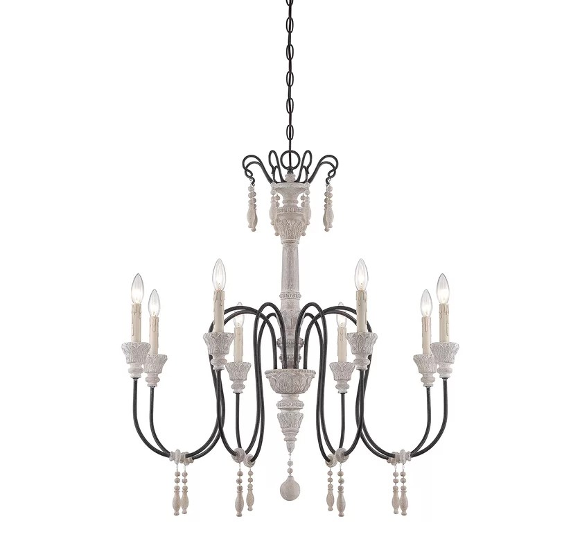 Wildon Home ® Creswell 8-Light Candle-Style Chandelier