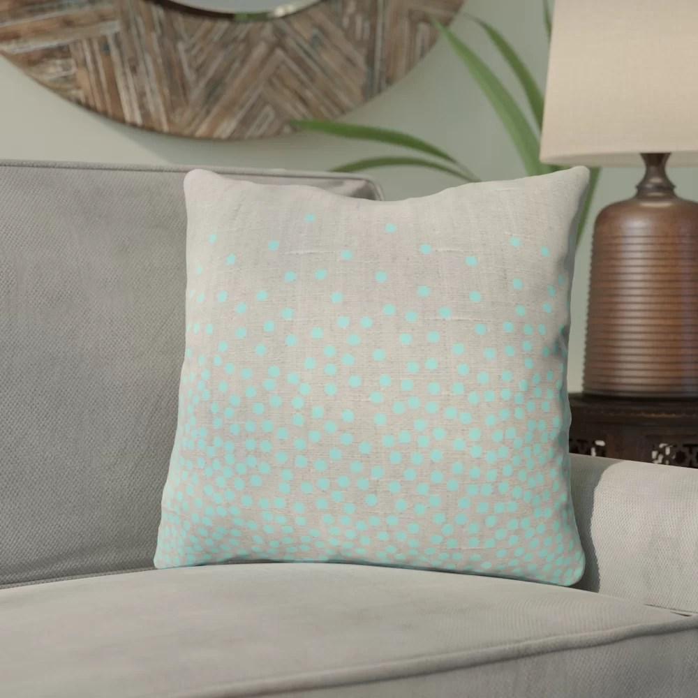 guillama hint of mint outdoor throw pillow