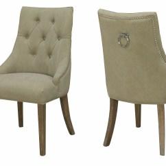 Pompon Nailhead Side Chair Diy Patio Cushion Covers Darby Home Co Alberta Wayfair