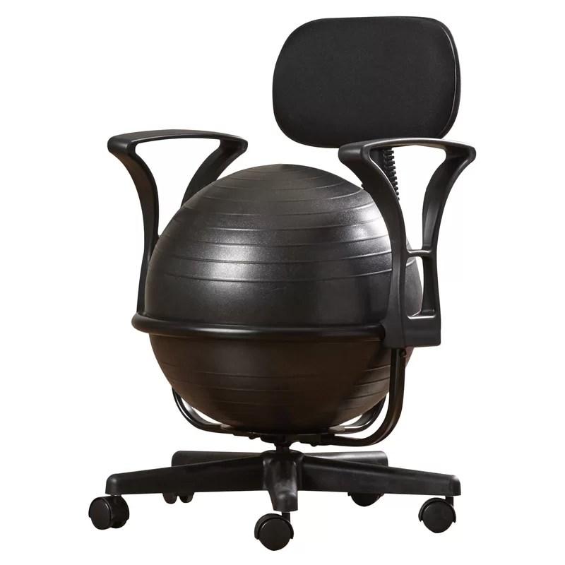 Symple Stuff Exercise Ball Chair  Reviews  Wayfair
