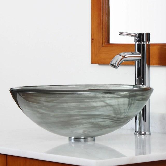 Defaultname Fancy Glass Undermount Bathroom Sinks Oceana Glass