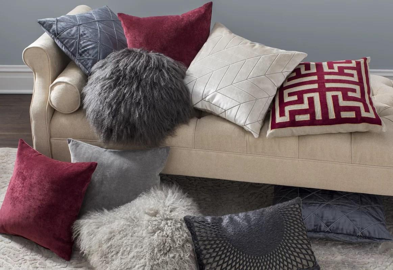 Zipcode Design Becky Mongolian Fur Throw Pillow  Reviews