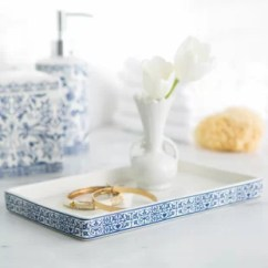 Marble Kitchen Accessories American Standard Quince Faucet Wayfair Kit Bathroom Accessory Tray