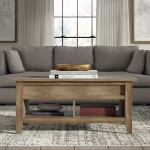 fancy living room tables split level ranch decorating ideas coffee table wayfair riddleville lift top with storage