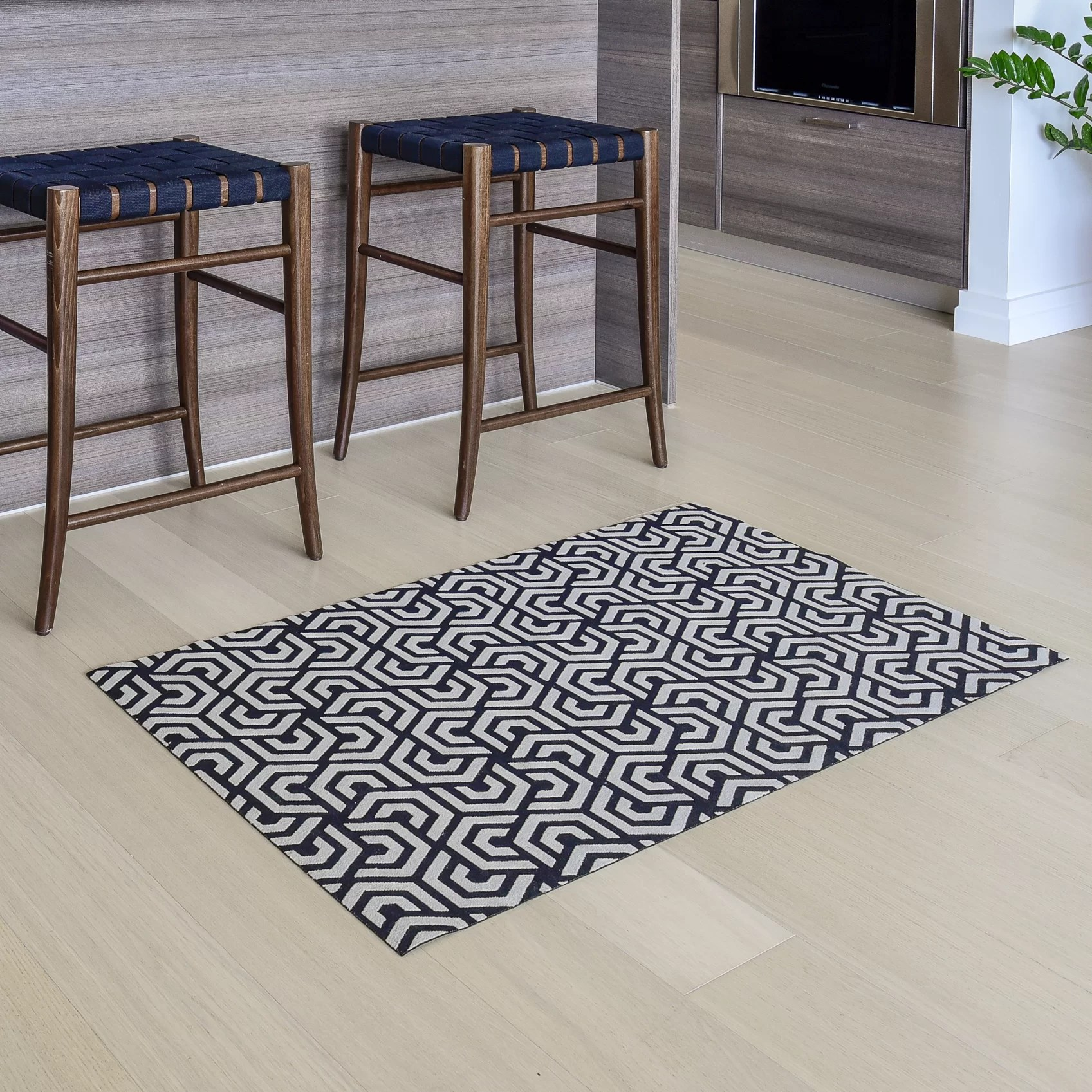 Brayden Studio Oberle All Weather Runner Kitchen Mat