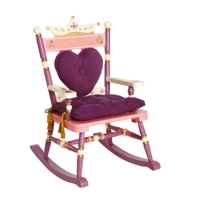 children rocking chairs full body massage wildkin princess rock a buddies royal kids chair reviews wayfair