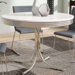 Retro Dining Room Chairs Hanging Papasan Chair Diy Table And Wayfair Kewei