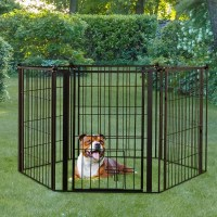Carlson Pet Indoor/Outdoor Super Dog Gate and Play Yard ...