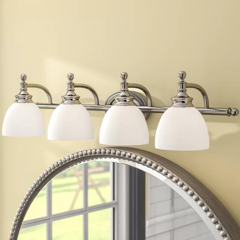 Charlton Home Stolle 4 Light Vanity Light Reviews Wayfair